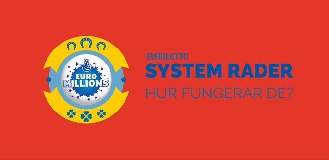 euro lotto system og syndikat rader