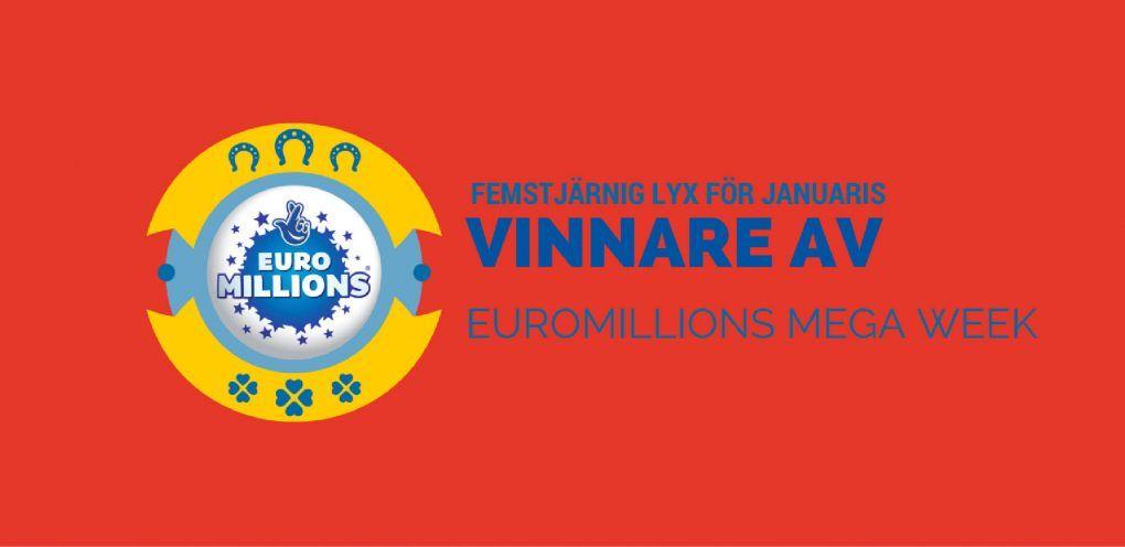 Femstjärnig lyx för januaris vinnare av EuroMillions Mega Week